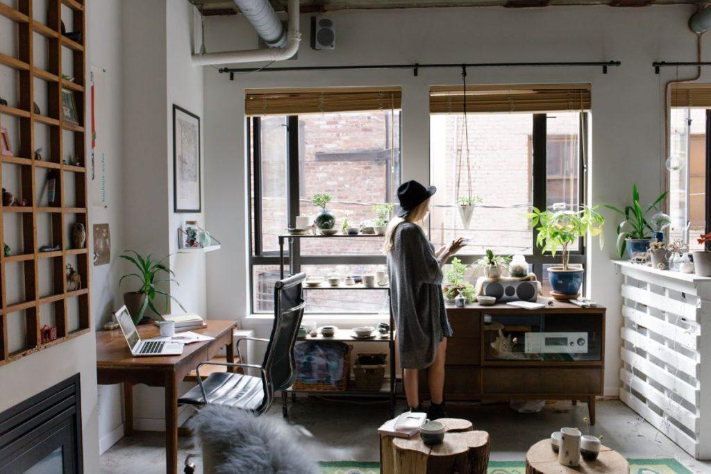 biuro we własnym mieszkaniu
